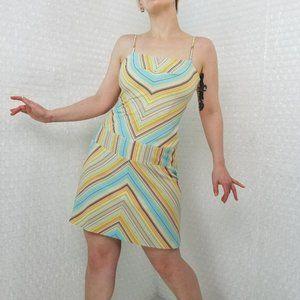 Laundry by Shelli Segal Vintage 90s mini mod dress